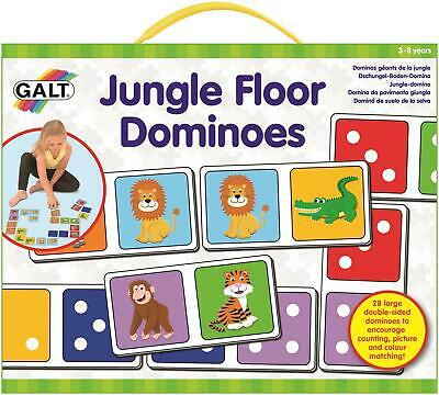 Galt JUNGLE FLOOR DOMINOES Kids Activity Toy BNIP