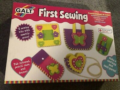 Galt Toys Creative Cases First Sewing kit - New