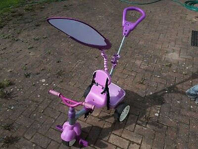 Girls Purple Pink Little Tikes 4 in 1 Baby/Toddler Outdoor