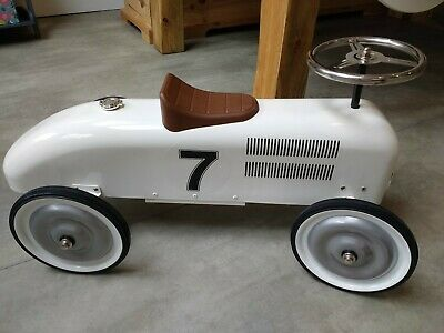 Halfords, Ride-On Racing Car - White