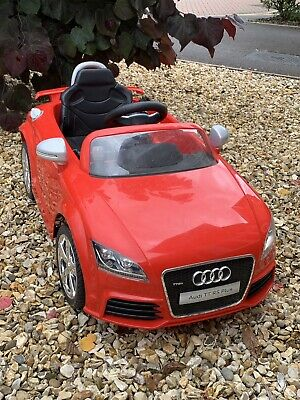 Kids AUDI TT Style 12v Electric Battery Ride on Car / Red