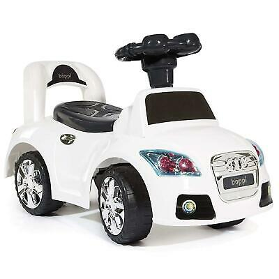 Kids Ride On Sports Car  Months - White Toddler Secured