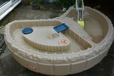 LITTLE TIKES BUILDERS BAY SAND & WATER TABLE -FOR COLLECTION