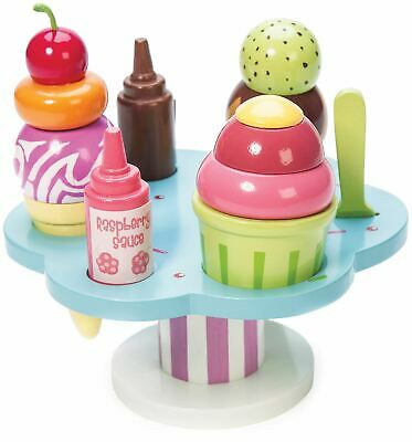 Le Toy Van HONEYBAKE PLAY CARLO'S GELATO Wooden Toy BN