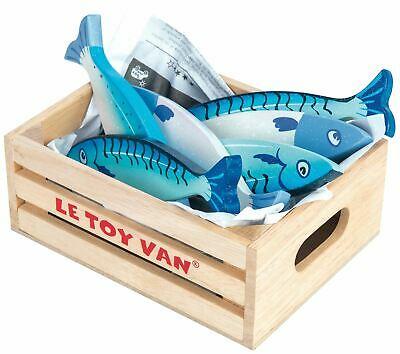 Le Toy Van HONEYBAKE PLAY FRESH FISH Wooden Toy BN