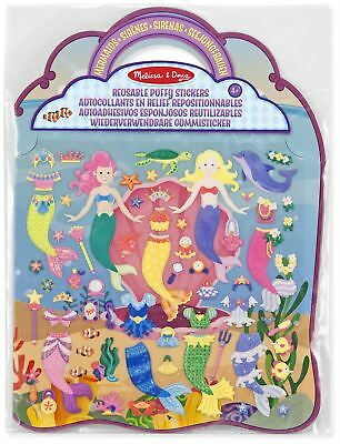 Melissa & Doug REUSABLE PUFFY STICKERS - MERMAID Creative