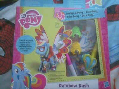 My little pony create and design a pony Rainbow dash