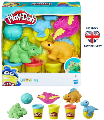 PLAY-DOH DINO TOOLS Dinosaurs & Eggs Play Set Modelling Play