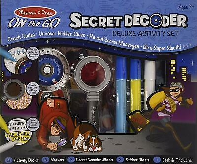 Secret Decoder Deluxe Activity Set Melissa + Doug Super