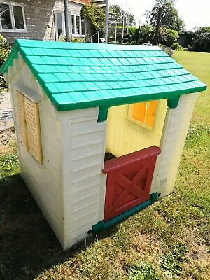 Toy Play House Childrens kids Outdoor Playhouse little tikes