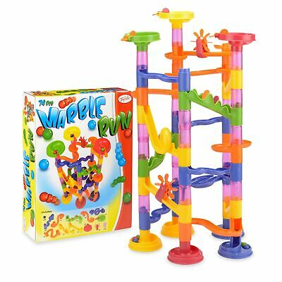 Toyrific Marble Run Game Multi-Coloured Marble Race, Age 4