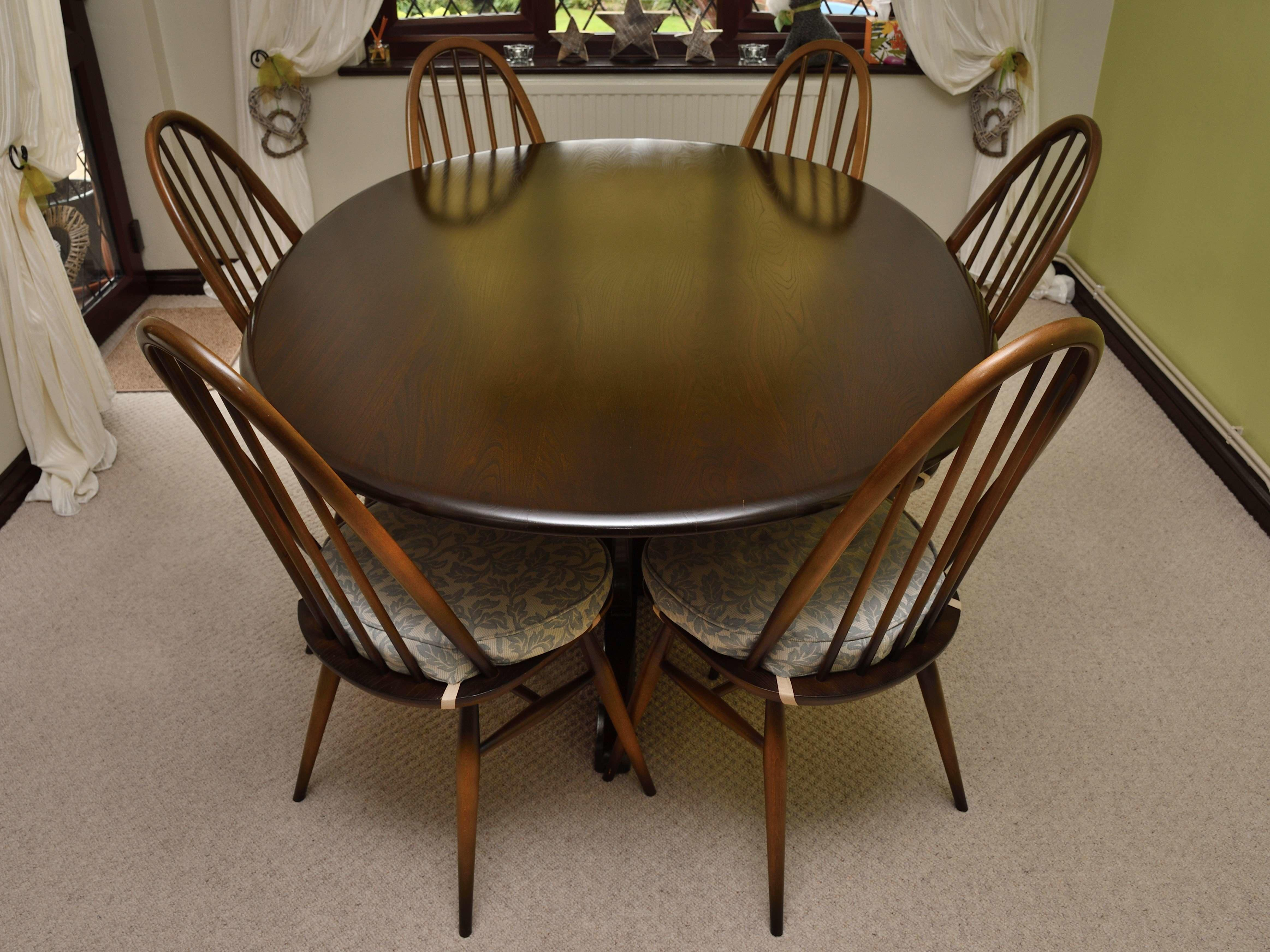 2 Ercol Windsor Dining Chairs Posot Class