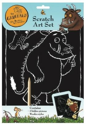 The Gruffalo Scratch Art Set Wooden Stylus 2 Pictures