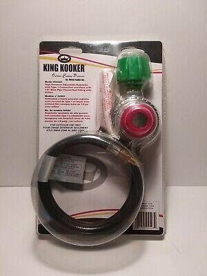 King Kooker  High Pressure Adjustable Hose & Regulator
