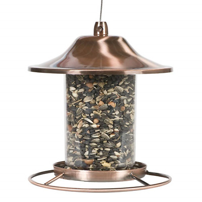 Perky-Pet Copper Panorama Bird Feeder - Hanging Wild Bird
