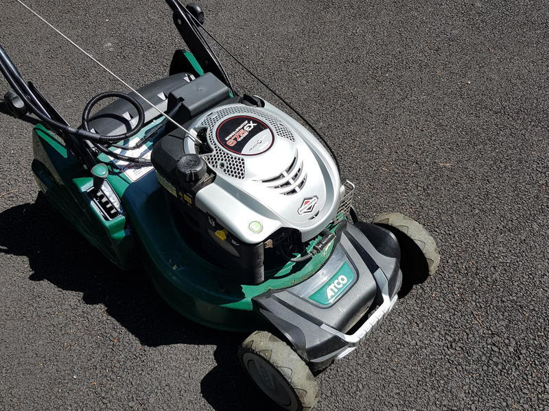 Self Propelled Petrol Lawn Mower (Rotary). Electric Start.
