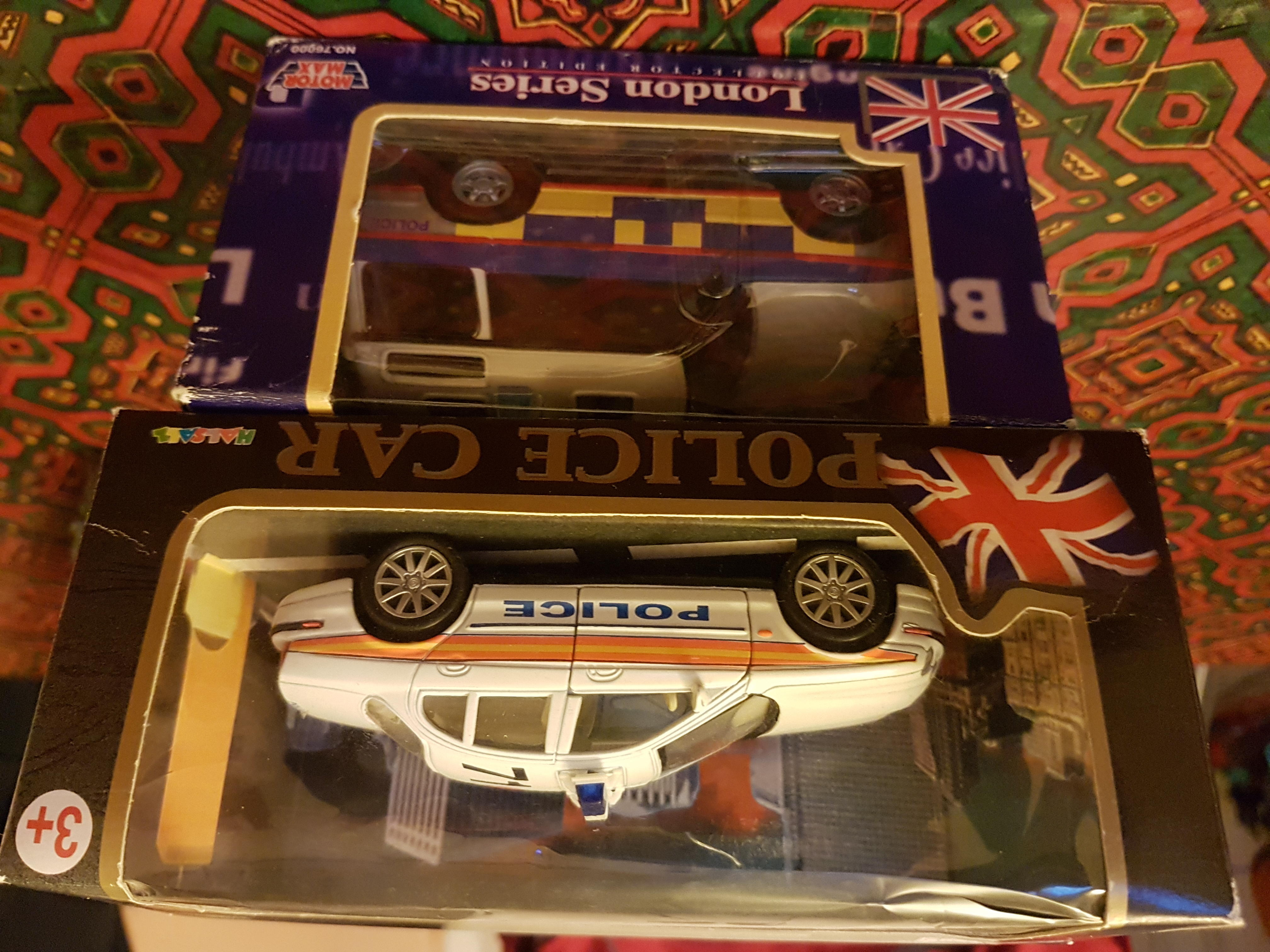 2 limited edition collection toy car