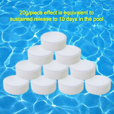 20g CHLORINE TABLETS 5 IN 1 Multifunction SWIMMING POOL HOT