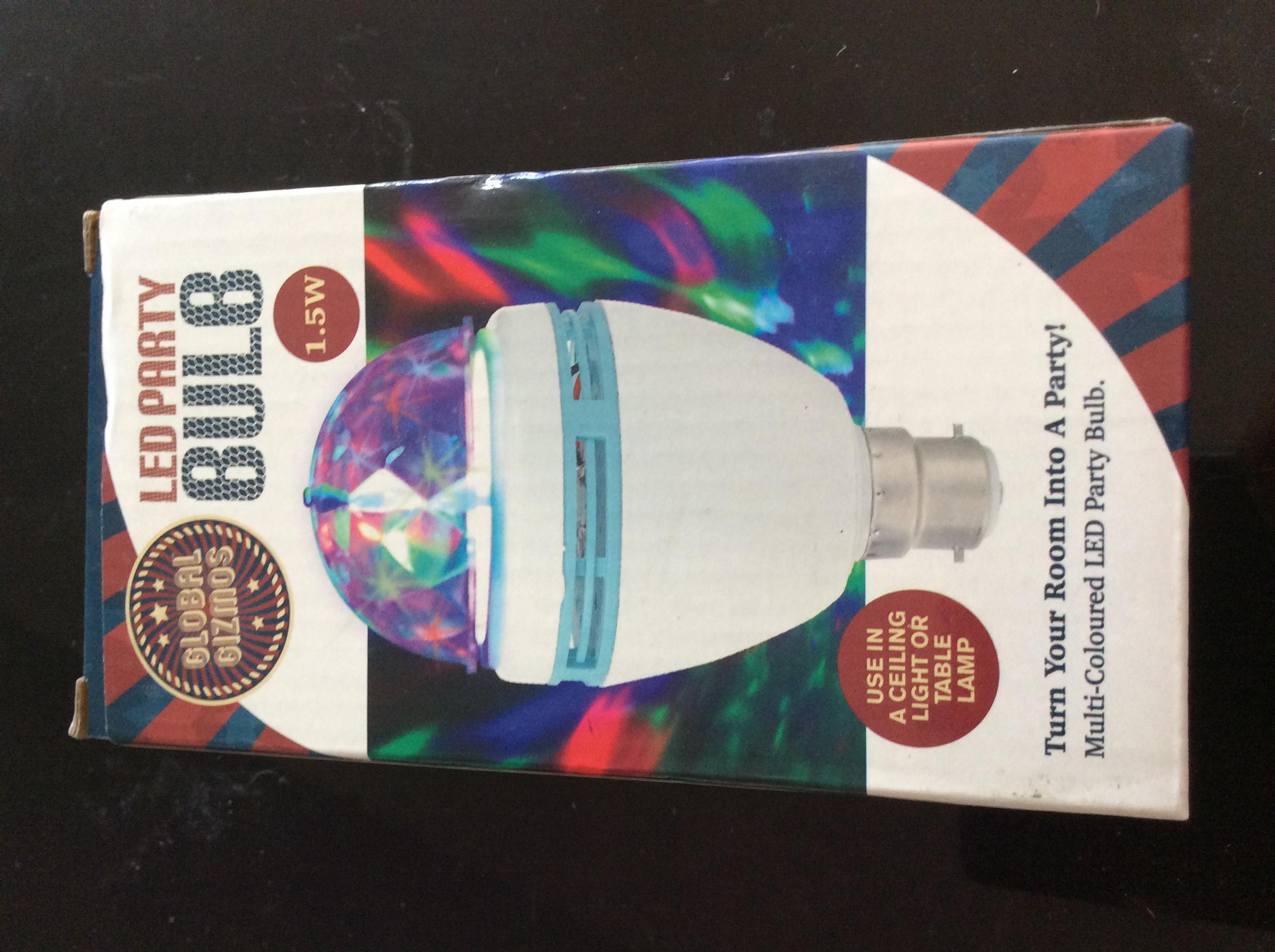 Brand new led party bulb