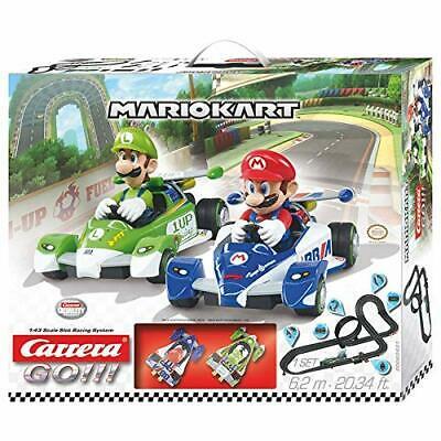 Carrera Go Mario Kart 5m 1:43 Slot Set Featuring Mario /