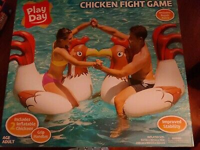 Inflatable Chicken Fight Ride-On Swimming Pool Float Party