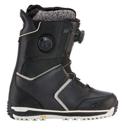 K2 Womens Snowboard Boots Estate  Black UK 6