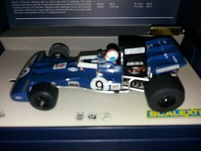 SCALEXTRIC LEGENDS CA TYRRELL 002 AS DRIVEN BY FRANCOIS.
