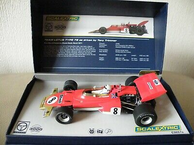 Scalextric Legends Team Lotus Type 72 As Driven by Tony
