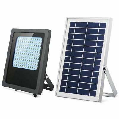 1X(Solar Lights Outdoor 120LED Solar Flood Light