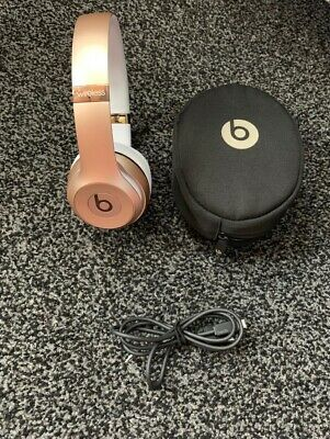 Beats by Dr. Dre Solo3 Wireless Headband Headphones - Gold