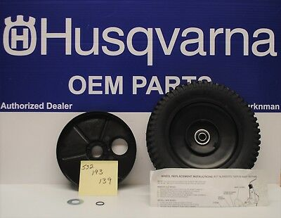 Genuine OEM Husqvana  AYP 9X2 Wheel