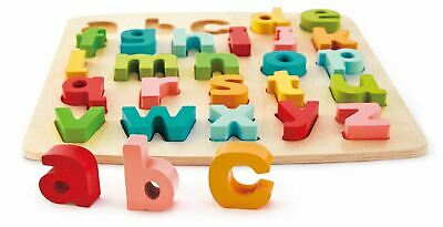 Hape CHUNKY LOWERCASE PUZZLE Pre-School Young Children