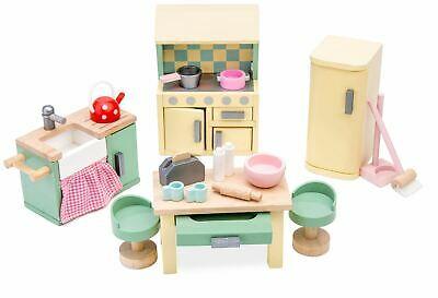 Le Toy Van DOLL HOUSE DAISYLANE KITCHEN Wooden Toy BN