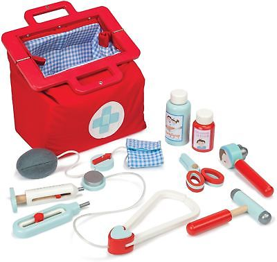 Le Toy Van HONEYBAKE DOCTOR'S SET Wooden Medical Role Play