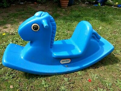 Little Tikes Toddler Rocking Horse Blue