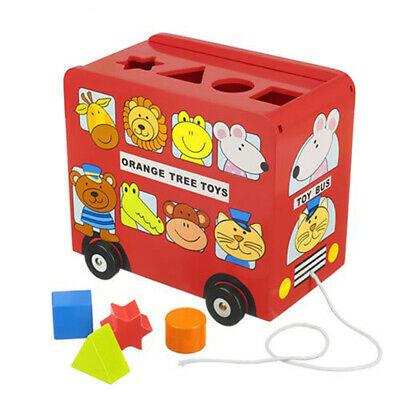 Orange Tree Toys Bus Shape Sorter