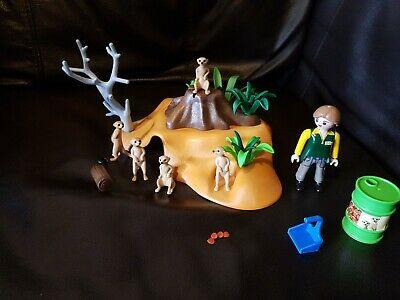 Playmobil  Meerkat Family / Zoo Add On animals