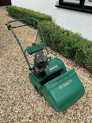 Qualcast Classic Petrol 35S Petrol Cylinder Lawn Mower and