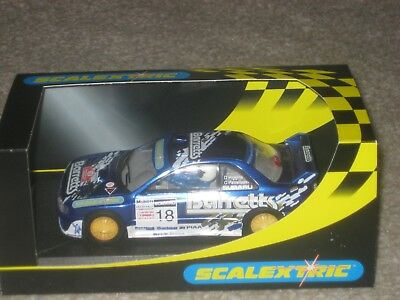 Scalextric Car - Subaru Impreza WRC - 'Barretts Ltd Ed'