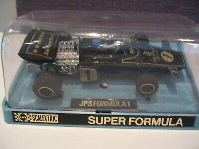 Vintage Scalextric C050 JPS Formula 1 car boxed VERY GOOD