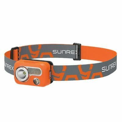 1X(SUNREE Waterproof IPX7 Hiking Camping LED Head Light Lamp