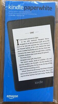 Amazon Kindle Paperwhite (10th Generation) 8GB With Wi-Fi.