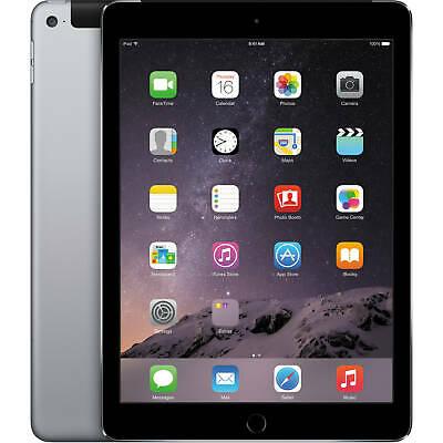 Apple iPad Air 2 16GB Wi-Fi Cellular 4G Unlocked 9.7 Retina