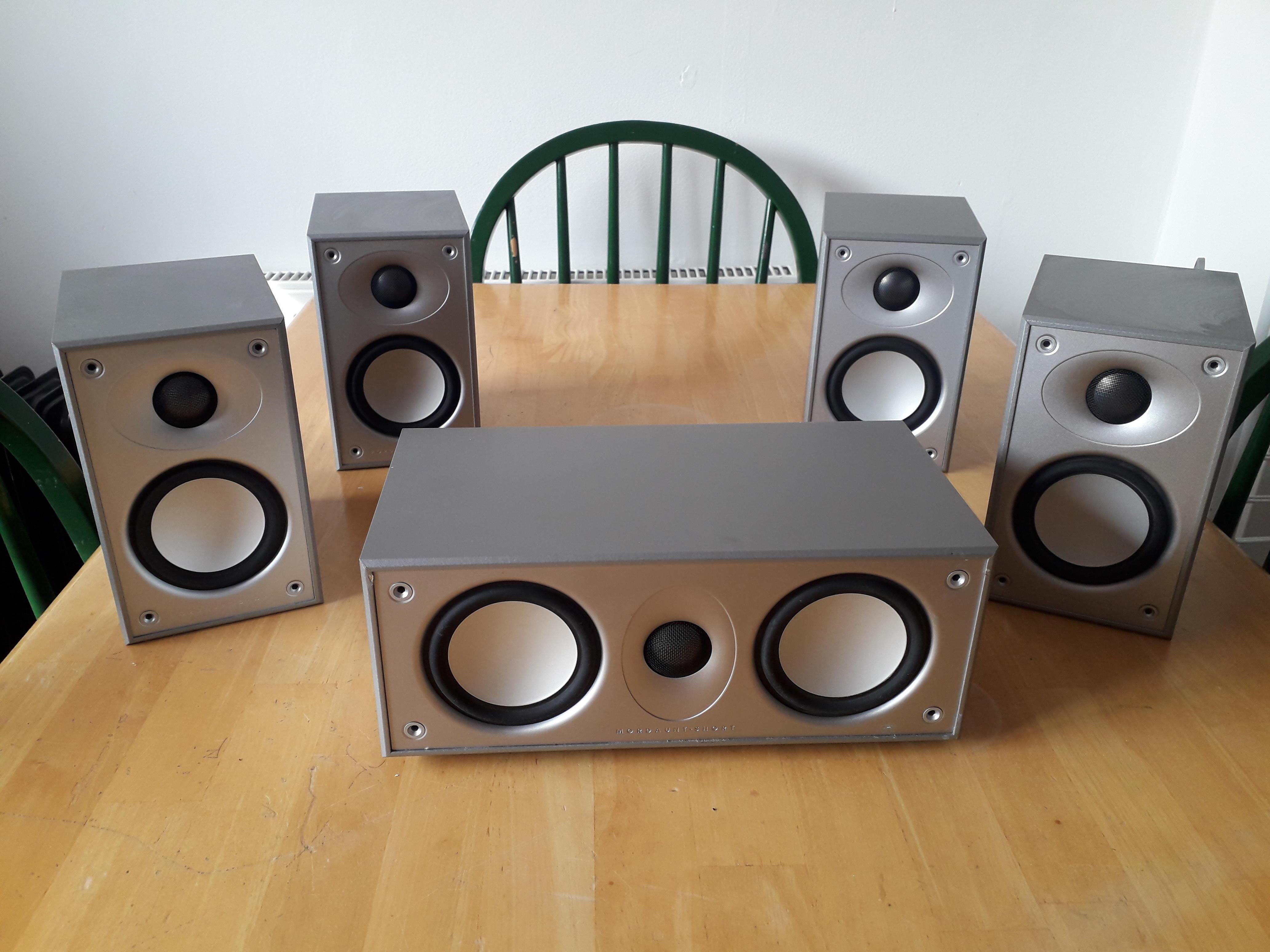 Mordaunt Short Home Cinema Surround Sound Speakers