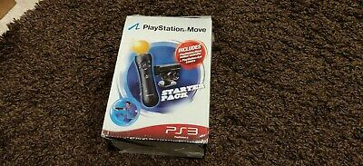 Sony PS3 Playstation Vr Move Starter Pack Motion Controller