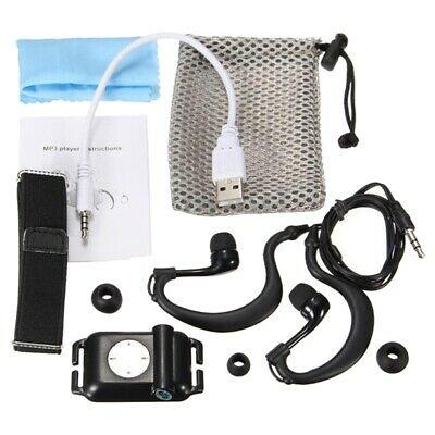 2X(IPX8 Waterproof Sport MP3 Player Player FM Radio Surfing