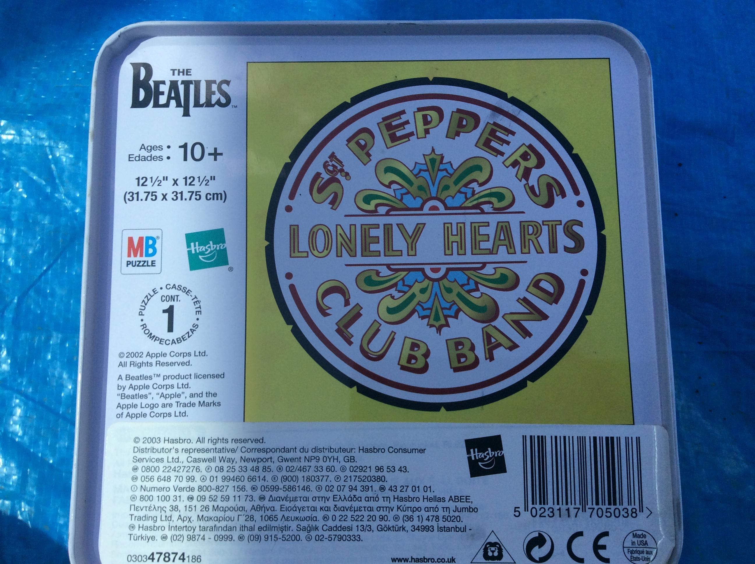 Beatles puzzle.