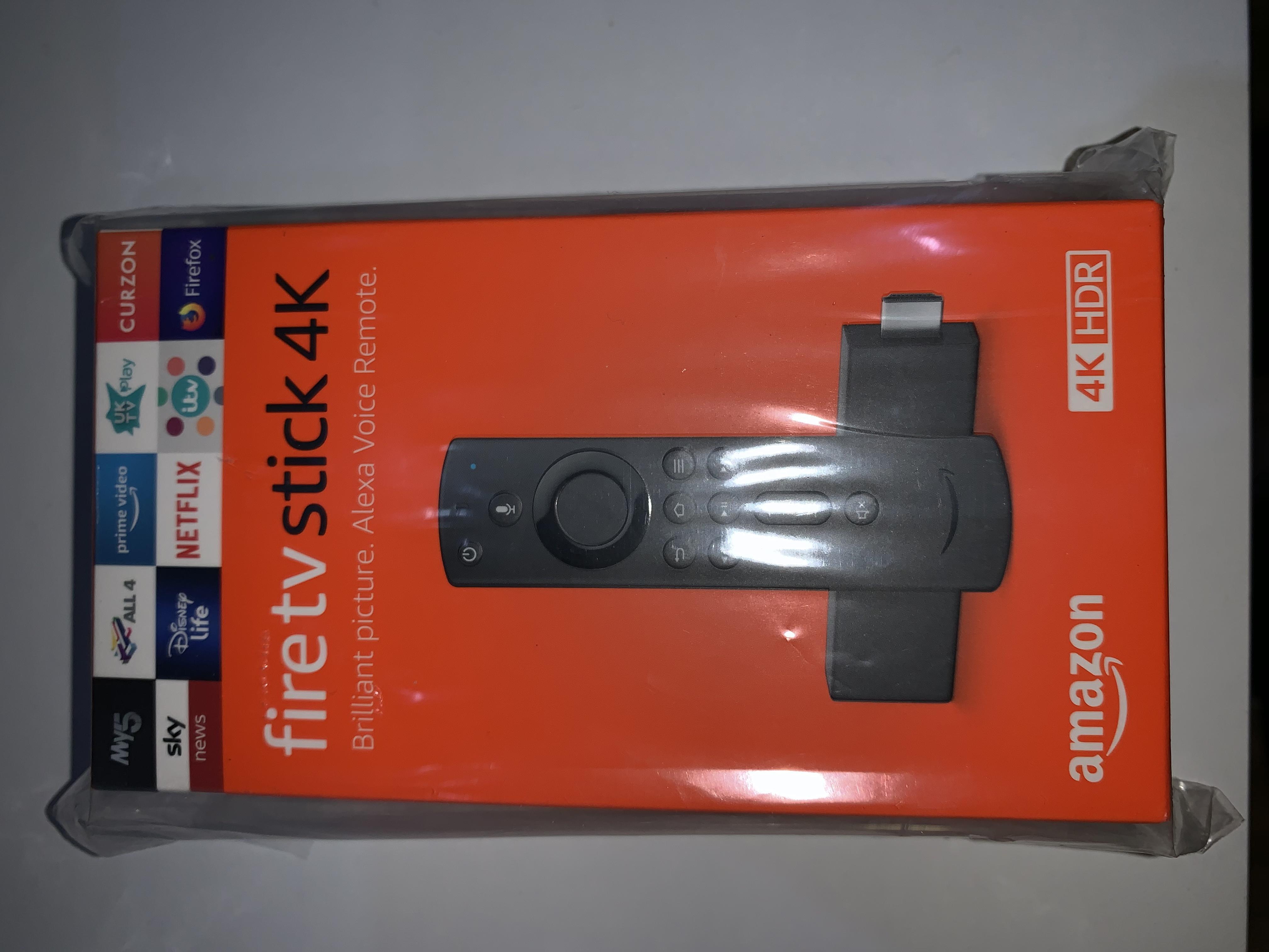 Brand new - AMAZON Fire TV Stick 4K with Alexa Voice Remote