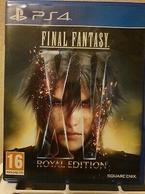 Final fantasy XV Royal Edition PS4 - (DLC Redeemed)