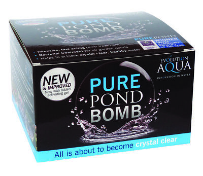 Pond Bomb Clear Water Treatment for Healthy Pond Water -
